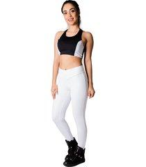 calça adamas legging poliamida branca