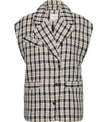 nikalagz oz waistcoat ye20 vests knitted vests beige gestuz