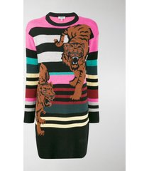 kenzo double tiger jumper dress