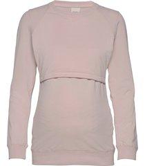 b warmer sweatshirt sweat-shirt tröja rosa boob