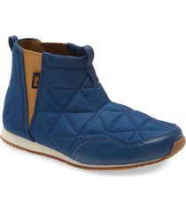 toddler teva ember quilted bootie, size 2 m - blue