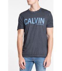 camiseta ckj mc calvin - marinho - m
