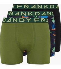 frank dandy 3-pack magaluf boxer boxershorts multicolor