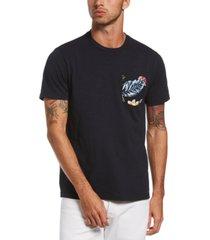 original penguin men's floral graphic pocket t-shirt