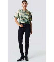 trendyol high waist skinny jeans - black