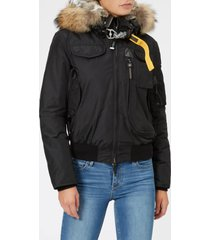 parajumpers women's gobi masterpiece coat - black - m