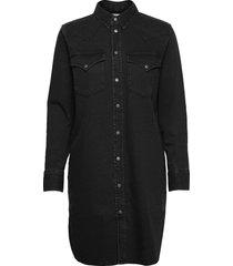 de-blanche dress knälång klänning svart diesel women