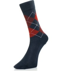 burlington preston argyle deep navy socks 242846155