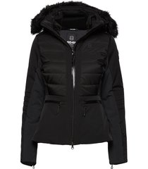 cristal jacket fodrad jacka svart 8848 altitude
