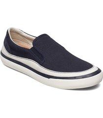 aceley step loafers låga skor blå clarks