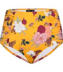 bikini bottoms plus print high waist bikinitrosa gul zizzi
