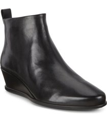 ecco women's shape 45 wedge ankle booties women's shoes