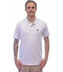 camisa polo blanks co 1211 bks white