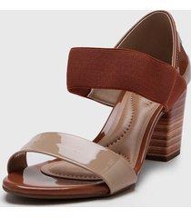 sandalia marrón beira rio