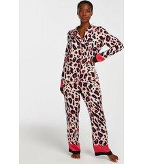 hunkemöller duckie pyjamasbyxor rosa
