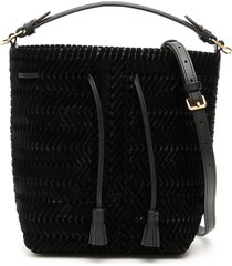 anya hindmarch small neeson drawstring bag