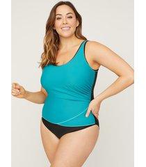 sporty one piece swimsuit