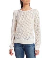 moxya open-knit wool sweater