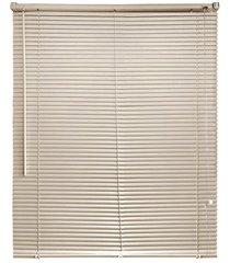 persiana horizontal em pvc 120x160cm bege