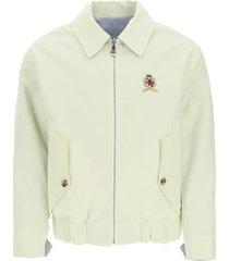 tommy hilfiger reversible jacket with crest