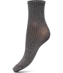 dina glitz lingerie hosiery socks grå becksöndergaard