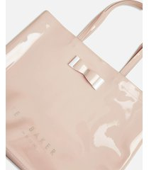 ted baker women's hanacon bow large icon tote bag - dusky pink