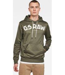 gsraw gr hooded sweater