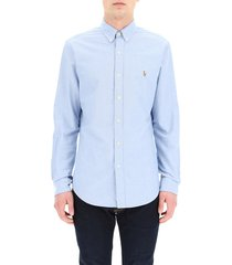 oxford shirt embroidered pony