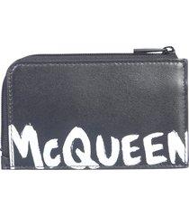 alexander mcqueen zip money pouch