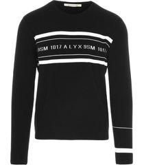 1017 alyx 9sm band logo sweater