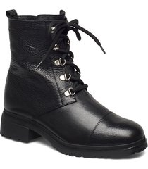 c-4841-m shoes boots ankle boots ankle boot - flat svart wonders