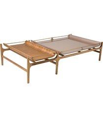 mesa de centro ribeiro 1,40m x 1,40m
