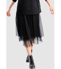 kjol alba moda svart