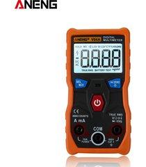 aneng v04a datos ncv multímetro digital lcd ac/dc capacitancia frecuen