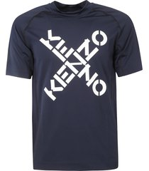 kenzo cross logo slim fit t-shirt