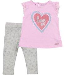 conjunto girly rosado ficcus