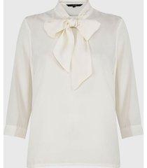 blusa vero moda mille 3/4 crudo - calce holgado