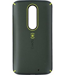 speck mightyshell no slip grip slim case cover for droid turbo 2 - new green