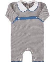 little bear grey babyboy babygrow with belt