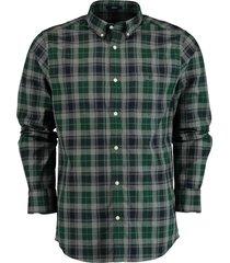 gant overhemd groen regular fit 3028230/374