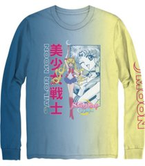 men's sailor moon crystal long sleeve graphic t-shirt