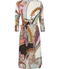 etro multicolor viscose dress