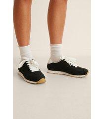 na-kd shoes bas retro sneakers - black