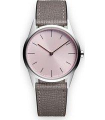 uniform wares c33 two-hand watch - metallic