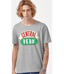 camiseta friends central perk masculina
