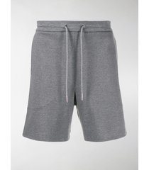 thom browne interlock rwb stripe mid-thigh shorts