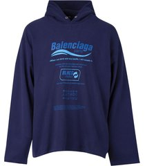 blncg hoodie marine blue