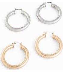 orecchini a cerchio (set 4 pezzi) (oro) - bpc bonprix collection