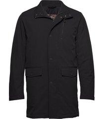 danton coat fodrad jacka svart oscar jacobson