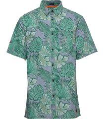 seattle skate shirt kortärmad skjorta grön superdry